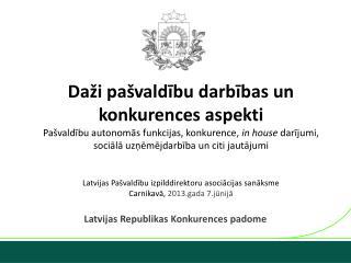 Latvijas Republikas Konkurences padome