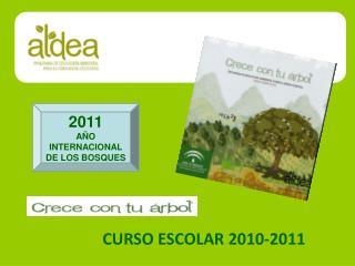 CURSO ESCOLAR 2010-2011