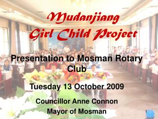 Mudanjiang Girl Child Project
