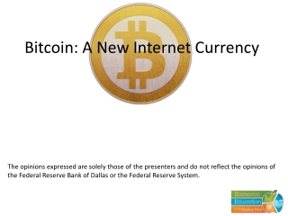 The Internet: A New Financial