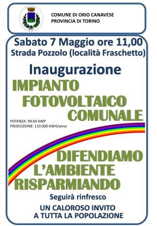 COMUNE  DI  ORIO CANAVESE PROVINCIA  DI  TORINO