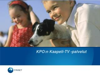 KPO:n Kaapeli-TV -palvelut