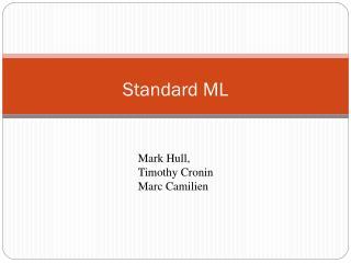 Standard ML