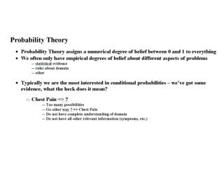Probability Notation Review
