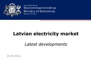 Latvian electricity market Latest developments