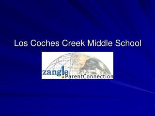 Los Coches Creek Middle School