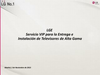 Madrid, 2 de Noviembre de 2013