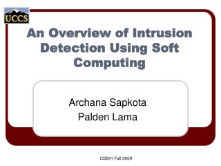 An Overview of Intrusion Detection Using Soft Computing