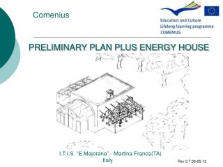 PRELIMINARY PLAN PLUS ENERGY HOUSE