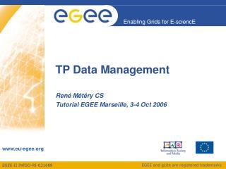 TP Data Management