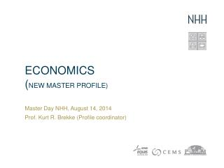 ECONOMICS ( NEW Master Profile)