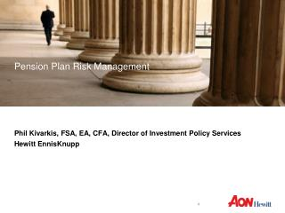 Pension Plan Risk Management