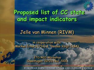 Why indicators in ETC/ACC