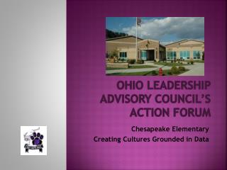 Ohio Leadership Advisory Council's Action Forum