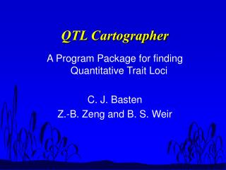 QTL Cartographer