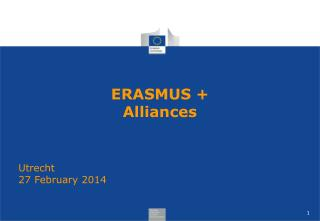 ERASMUS + Alliances