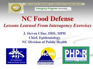 NC Food Defense Lessons Learned From Interagency Exercises