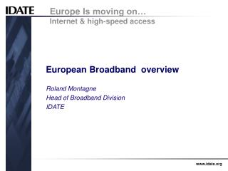 European Broadband  overview