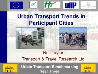 Urban Transport Trends in Participant Cities