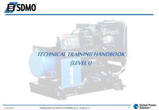 TECHNICAL TRAINING HANDBOOK (LEVEL I)