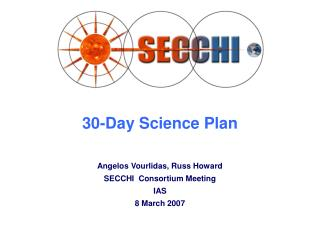 30-Day Science Plan