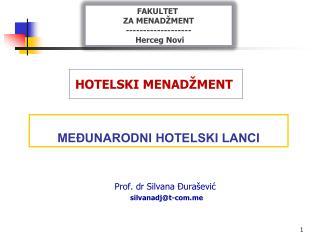 MEĐUNARODNI HOTELSKI LANCI
