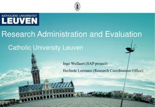 Research Administration and Evaluation