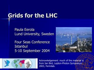 Grids for the LHC