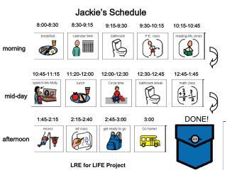 Jackie's Schedule