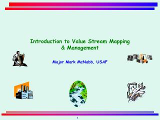 Introduction to Value Stream Mapping   & Management Major Mark McNabb, USAF