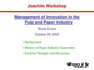 Joachim Workshop