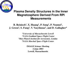 Plasma Density Structures in the Inner Magnetosphere Derived From RPI Measurements