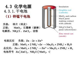 4.3  化学电源