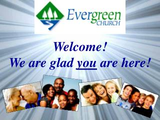 Welcome!  We are glad  you  are here!