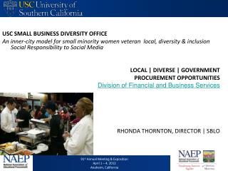 USC SMALL BUSINESS DIVERSITY OFFICE