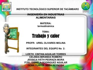 INSTITUTO TECNOLÓGICO SUPERIOR DE TACÁMBARO