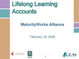 Lifelong Learning Accounts
