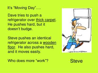 """It's """"Moving Day""""…."""