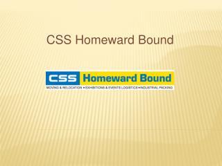 International Movers - CSS Homeward Bound