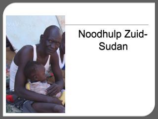Noodhulp  Zuid-Sudan