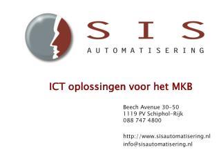 ICT oplossingen voor het  MKB