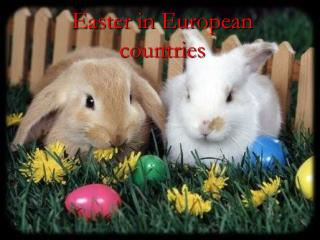 Easter in European countries