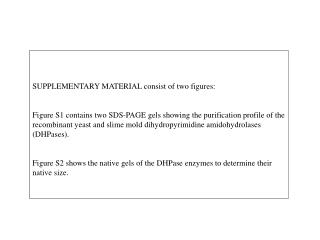 SUPPLEMENTARY MATERIAL consist of two figures: