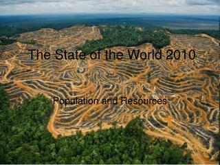 The State of the World 2010