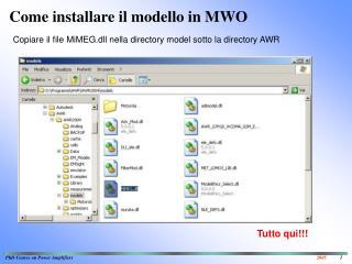 Come installare il modello in MWO
