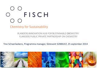 Tine  Schaerlaekens , Programma manager, Slotevent SUNBUILT, 25 september 2014