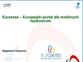 Euraxess – Europejski portal dla mobilnych naukowców