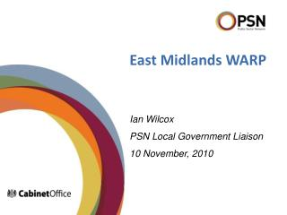 East Midlands WARP
