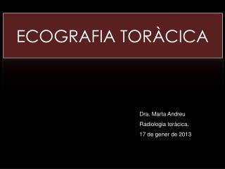 ECOGRAFIA TOR�CICA