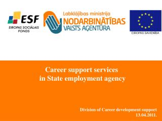 Division of  Career development support 13 .04.2011.